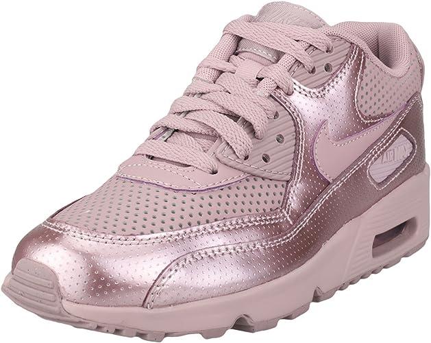 Nike Scarpe Air Max 90 Se LTR (GS) Viola/Viola Formato: 36 ...