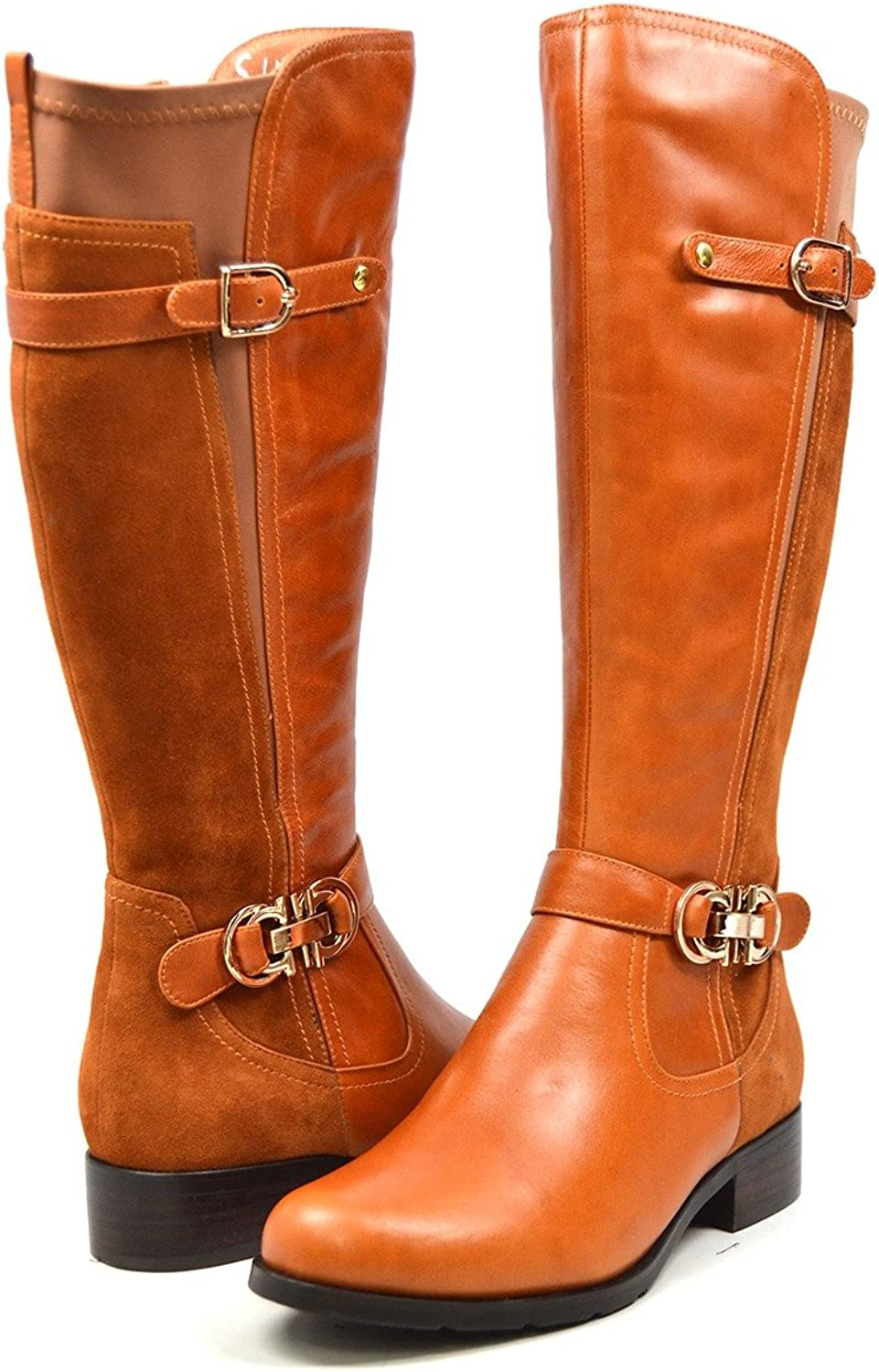 Solemani Valent Extra Slim Leather Calf Max 67% OFF Boot Louisville-Jefferson County Mall Women's