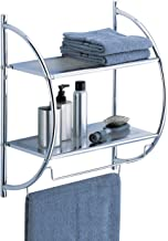 Best chrome bathroom shelf with towel bar Reviews