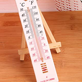 YOTHG Straight board Wall Thermometer - Indoor Outdoor Garden Greenhouse Home Office Room