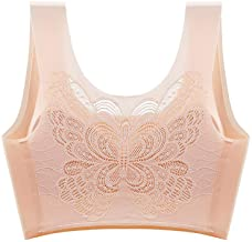 QiFei Vlinder-ondergoed voor dames, schokbestendig, hardlopen, yoga, verzamelen, beha, stretch, zonder beugel, push-up, yo...