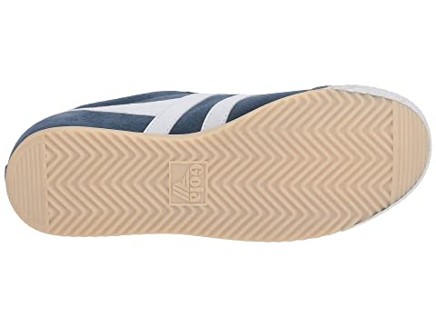 Gola Harrier 50 Suede Baltic/White Free Shipping Sast Cheap Price Low Shipping Fee r1MIkw