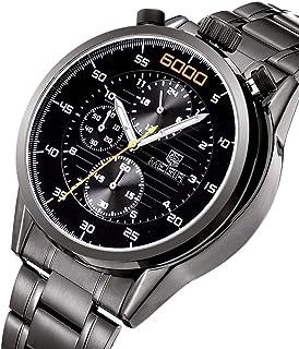 ساعة للرجال من ميجر، سوار ستانليس ستيل ، كرونوغراف M-3005-22