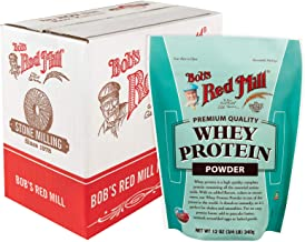 Bob's Red Mill Resealable Whey Protein Powder, 12 Oz (4 Pack)
