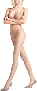 FALKE Womens Invisible Deluxe 8 DEN Tights - Ultra-Sheer, Matt, In Black or Tan/Nude, S to L, 1 Pair