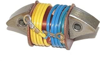 RS Vintage Parts RSV-B00ZLR0O7G-01591 Motorcycle Parts 6V Stator Plate LI ghting Supply Coil 2 Vespa Vba VBB Scotter