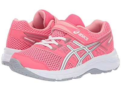 ASICS Kids Gel-Contend PS (Toddler/Little Kid) (Pink Cameo/White) Girls Shoes