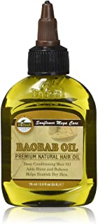 Difeel Premium Natural Hair Care Oil, Baobab 2.5 Oz, 2.5 Ounces
