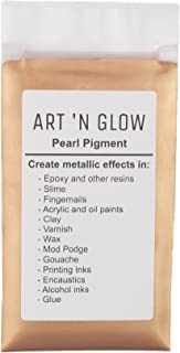 Mica Pearl Pigment Powder (Rose Gold) - (.88 Ounce/25 Grams) - 10+ Colors Available