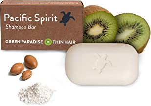 Shampoo Bar for Thin to Normal hair with Argan Oil & Fresh Kiwi for. Gentle Foam. Natural Citrus Scent. Sulfate-Free, Vega...
