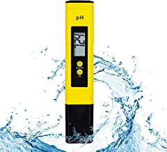 متر سنج دیجیتال Toolazy ، تستر کیفیت آب با دقت بالا با دامنه 0-14 PH برای نوشیدن خانگی ، هیدروپونیک ، آکواریوم ، دم آوری ، آزمایشگاه ، استخر ، کیت تستر قلم PH با ATC ، وضوح 0.01