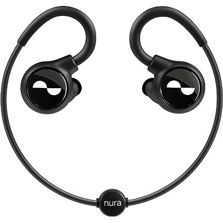 NuraLoop イヤホン Bluetooth ワイヤレス aptX™-HD 自動パーソナライズ機能付き 16時間連続再生 有線対応