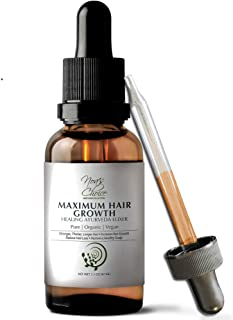 Noa's Choice ORGANIC Ayurvedic Hair Growth Formula, for FULLER, Longer,THICKER, Healthier Hair. Revive your Hair and Scalp TODAY! Best Treatment for Hair Loss & Thinning Hair 2.1oz