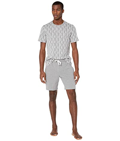 BOSS Hugo Boss Relax Shorts Set 10190954 03 (Gray) Men