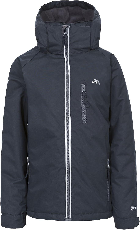 Trespass Cornell II Kids Waterproof Coat Insulated Hooded Jacket for Boys Girls