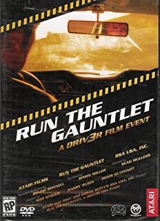 Run The Gauntlet: A Driv3r Film Event (Blockbuster Action, High Speed Thrills and Seedy Underworld of Driv3r All Begin Here, With This Official Driv3r Bonus DVD)