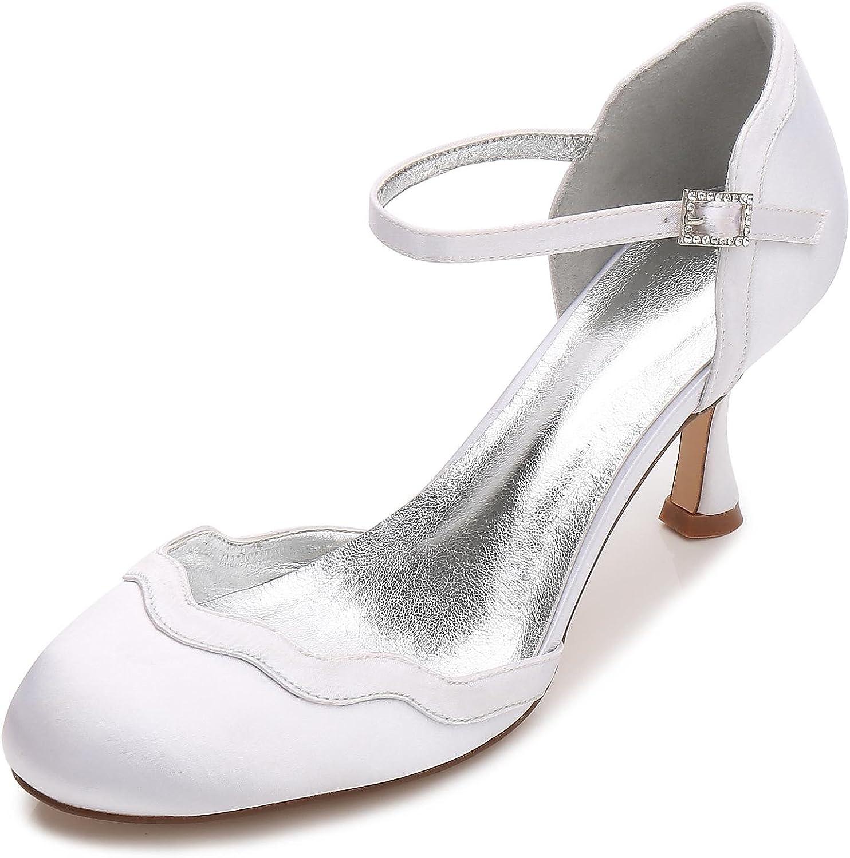 L@YC Damen Hochzeitsschuhe Hochzeitsschuhe T17061-54 Seide Casual Party  Point Toe Low Heel Schnalle MultiFarbe  Rabatt-Verkauf
