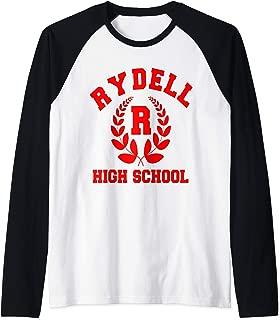 Retro Vintage Rydell High Bowling gift Raglan Baseball Tee