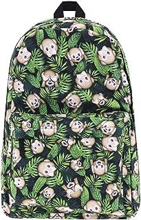 Mochilas Tipo Casual Mochila Infantil Backpack Mochilas Escolares Fashion Mochilas de Marcha para Chicas, 3D impresión Unicornio (Mono)