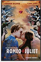 YONGTAO Vintage Movie Poster Romeo and Juliet 1996 Canvas Art Poster and Wall Art Picture Print Modern Family Bedroom Deco...