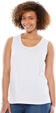 Woman Within Women's Plus Size Perfect Tank Top