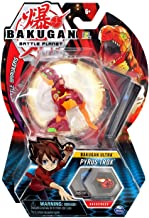 Bakugan Ultra, Pyrus Trox, 3-inch Tall Collectible Transforming Creature, for Ages 6 and Up
