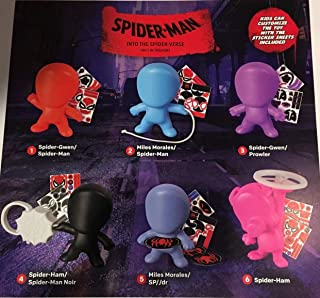 McDonald's 2018 Spiderman- INTO The Spider-Verse Complete Set