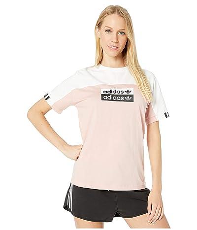 adidas Originals Originals Tee (White/Pink Spirit) Women