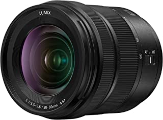 Panasonic LUMIX S 20-60mm F3.5-5.6 L Mount Interchangeable Lens for LUMIX S Series Mirrorless Full Frame Digital Cameras – S-R2060 (USA)