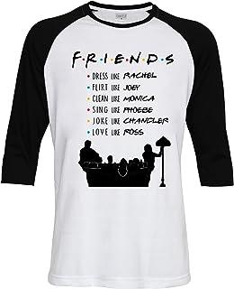 Topcloset Friends TV Show Name List Men Women Unisex Baseball T-Shirt