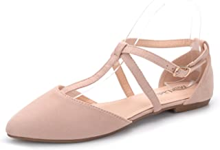 Mavis Fashion New Sparkling Embellish Glitter Slip Loafer Pointed Flat Shoes