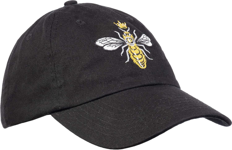 Queen Bee   Funny, Cute, Cool Boss Lady Crown Alpha Top Baseball Hat Women Cap