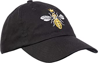 Queen Bee   Funny, Cute, Cool Boss Lady Crown Alpha Top Baseball Hat Women Cap Black