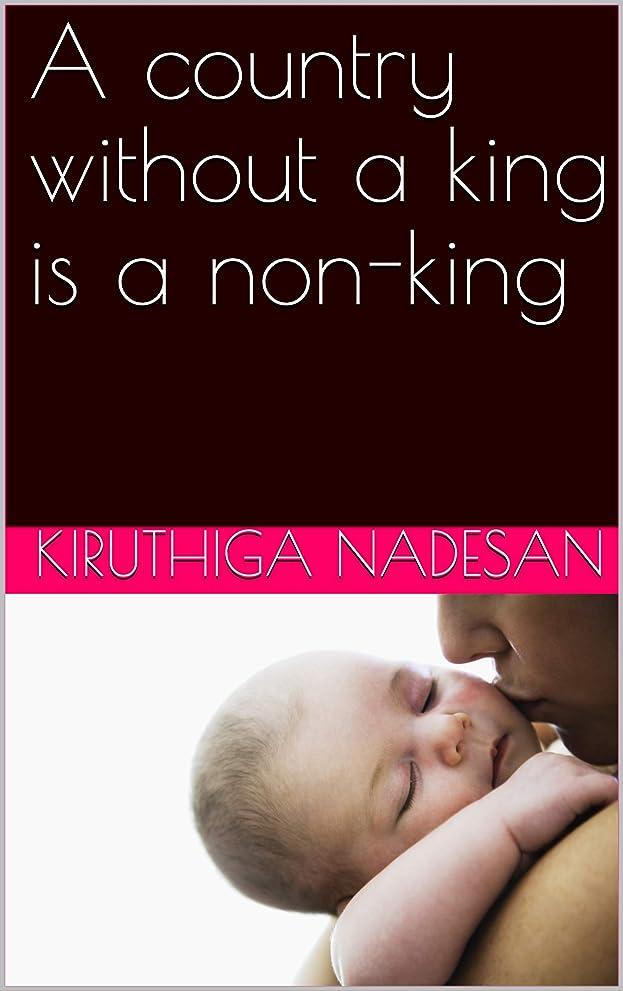 強制上陸プライバシーA country without a king is a non-king (English Edition)