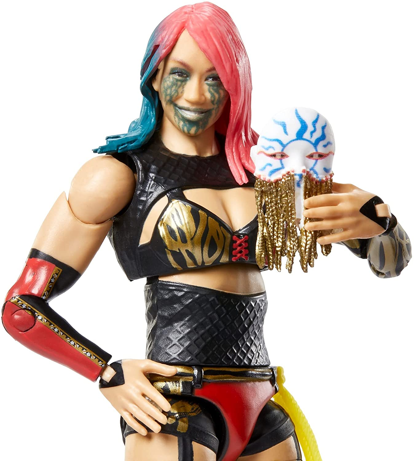 WWE Asuka Elite Collection Series 87 Action Figure 6 in Posable Multi