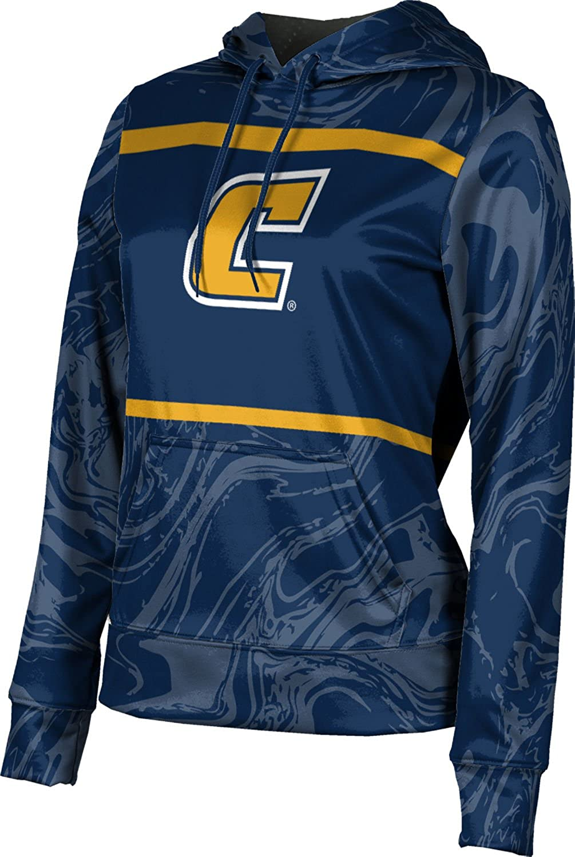 University of Tennessee at Chattanooga (UTC) Girls' Pullover Hoodie, School Spirit Sweatshirt (Ripple)