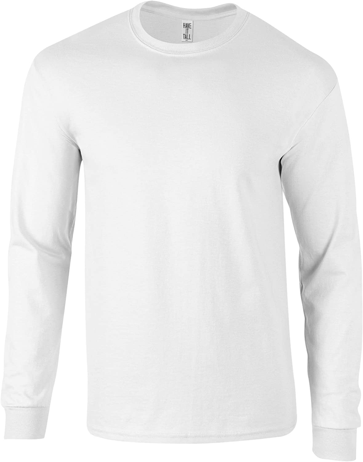 Have It Tall T Shirts for Men and Women | Cotton Long Sleeve | Sizes S - 2XL