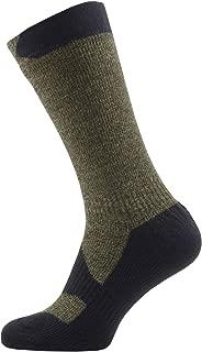 SEALSKINZ 100% Waterproof Sock - Windproof & Breathable - Mid length