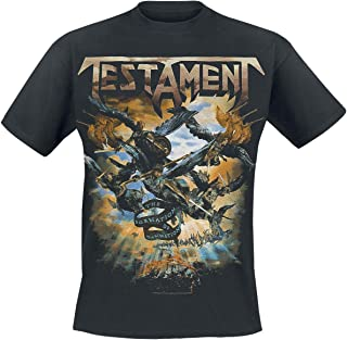 Testament T Shirt The Formation Of Damnation Band Logo 新しい 公式 メンズ Size L