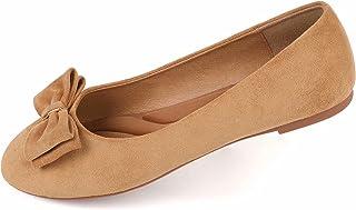 Sponsored Ad - Samilor Women's Flats Comfortable Flats Shoes Women Cute Dressy Bow Ballet Flats for Women
