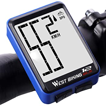 FYLY-Cuentakilómetros Inalámbrico para Bicicleta, Velocímetro de ...