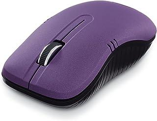 Wireless Notebook Optical Mouse, Commuter Series, Matte Purple 99781