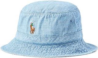 قبعة Polo Ralph Lauren للرجال خفيفة الوزن من قماش شامبراي