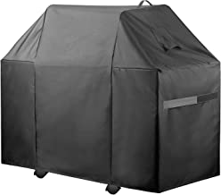 PJDH 600D Heavy Duty Waterproof Gas Grill Cover, 58-inch BBQ Cover, UV Resistant Material, Water-Resistant, Fits Fits Weber Char-Broil Grills and More