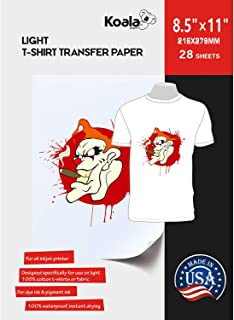 Best tshirt transfer printer paper Reviews