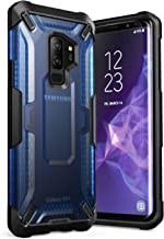 SupCase Galaxy S9+ Plus Case, Unicorn Beetle Series Premium Hybrid Protective Clear Case for Samsung Galaxy S9+ Plus 2018 Release, Retail Package (Frost/Blue)
