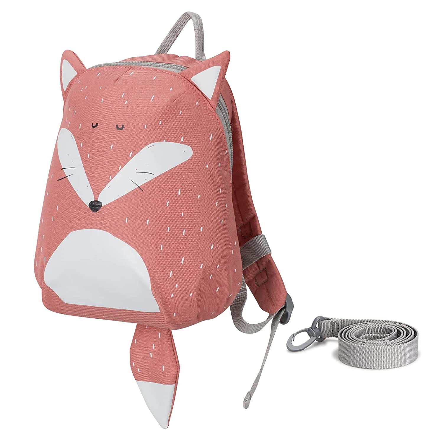 Toddler Backpack with Anti-Lost Leash - Baby Walking Safety Harness(Fox)