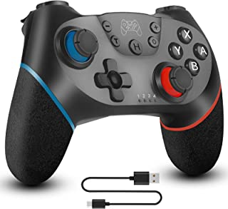 Wireless Pro Controller Compatible for Nintendo Switch Sefitopher Bluetooth Switch Pro Controller Gampad Joypad ,PC Contro...