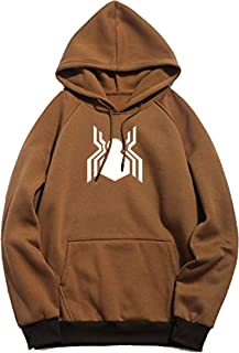BAGHADBILLO Unisex Printed Cotton Hooded Hoodie