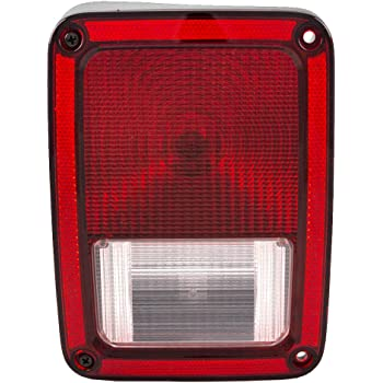 Depo 333-1945L-AS Jeep Wrangler Driver Side Replacement Taillight Assembly